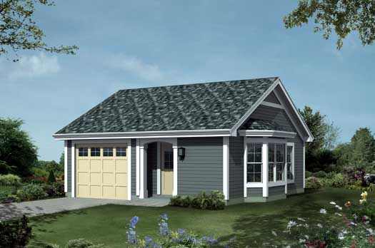 Traditional Style Home Design Plan: 77-321