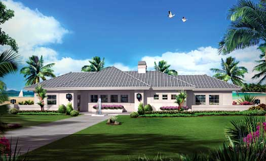 Southwest Style House Plans Plan: 77-376