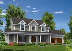 Farm Style House Plans Plan: 77-398