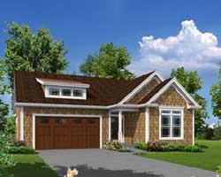 Bungalow Style House Plans Plan: 77-399