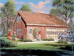 Ranch Style Home Design Plan: 77-508