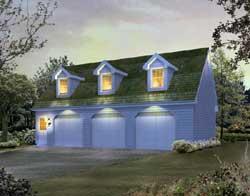 Cape-Cod Style House Plans Plan: 77-563