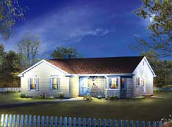 Traditional Style House Plans Plan: 77-597