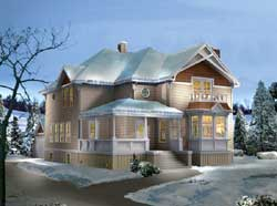 Country Style House Plans Plan: 77-604