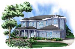 Country Style Floor Plans Plan: 78-105