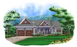 Traditional Style Home Design Plan: 78-109