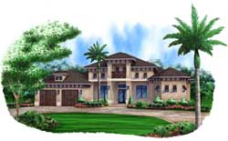 Coastal Style Floor Plans Plan: 78-113