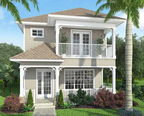 Coastal Style House Plans Plan: 78-114