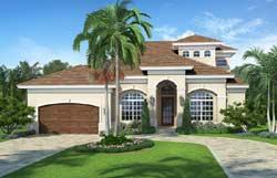 Mediterranean Style House Plans 78-115