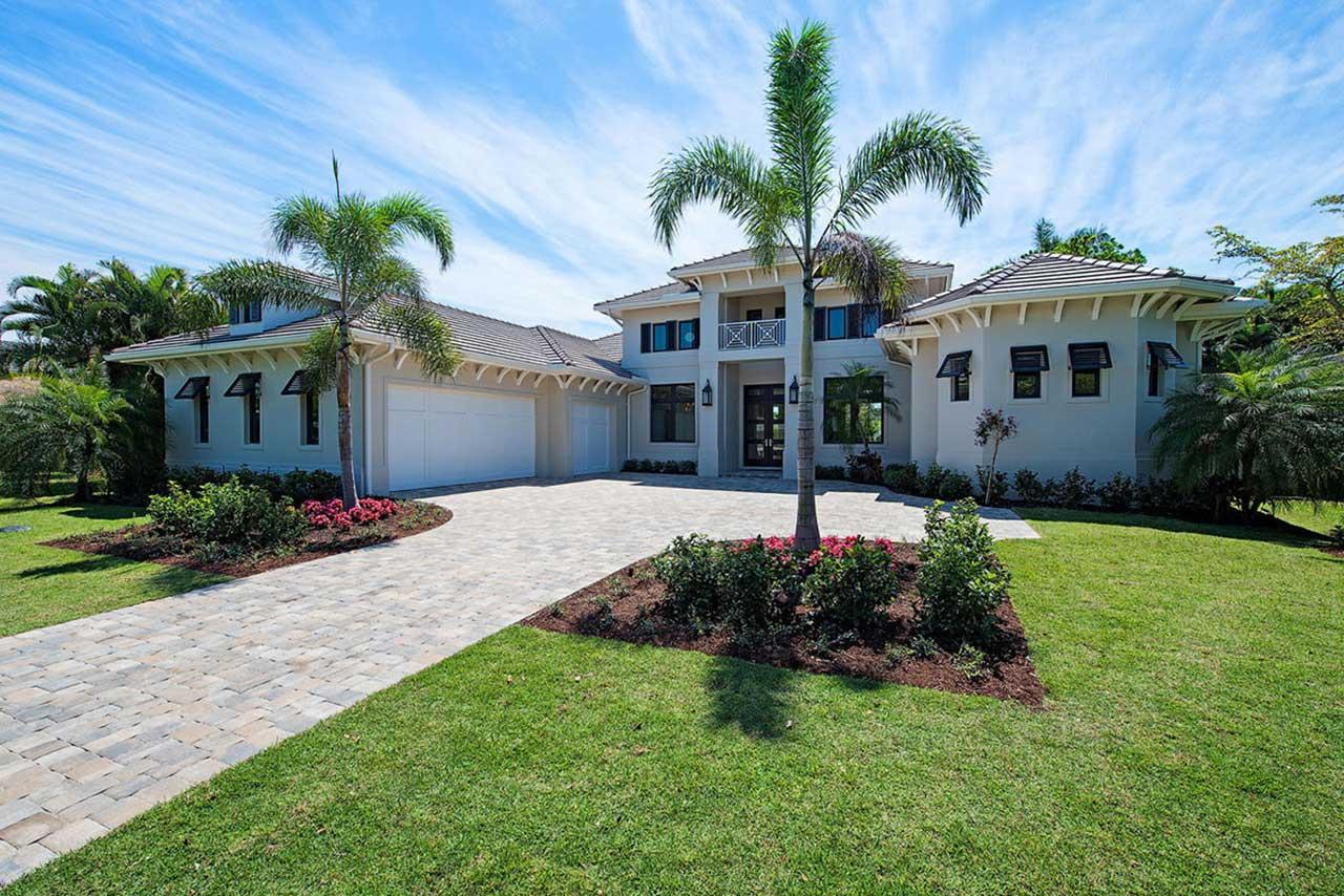 Coastal Style Home Design Plan: 78-129