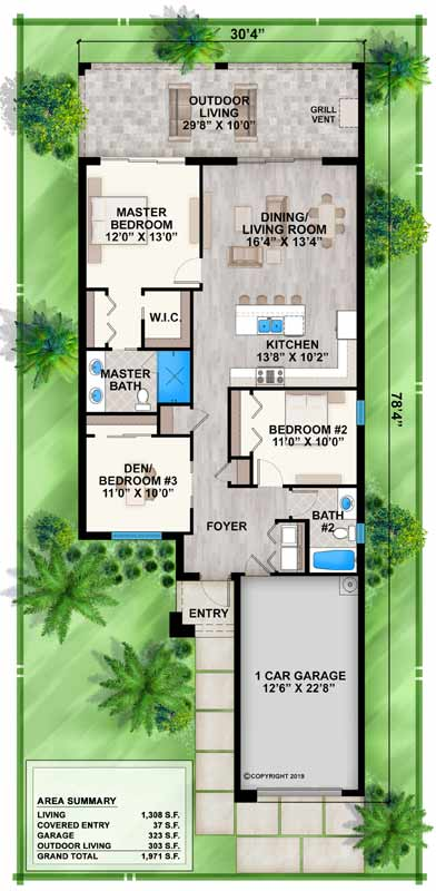 Main Floor Plan: 78-130