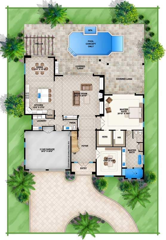 Main Floor Plan: 78-132