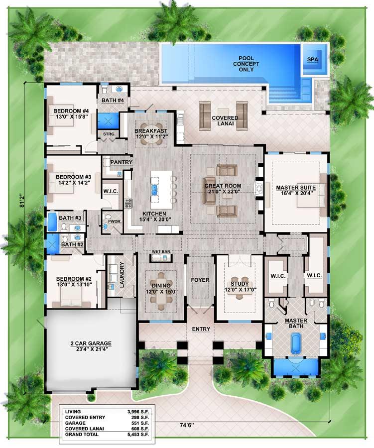 Main Floor Plan: 78-134