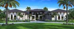 Florida Style House Plans Plan: 78-135