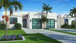 Modern Style Floor Plans Plan: 78-137