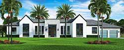 Florida Style House Plans Plan: 78-145