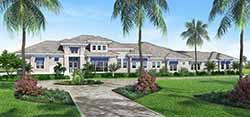Florida Style Floor Plans Plan: 78-150