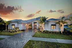 Florida Style House Plans Plan: 78-151