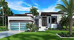 Modern Style House Plans Plan: 78-160