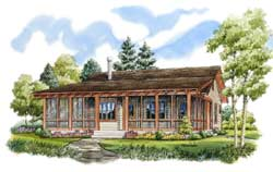Country Style Floor Plans Plan: 79-102