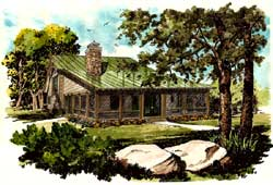 Country Style House Plans Plan: 79-103