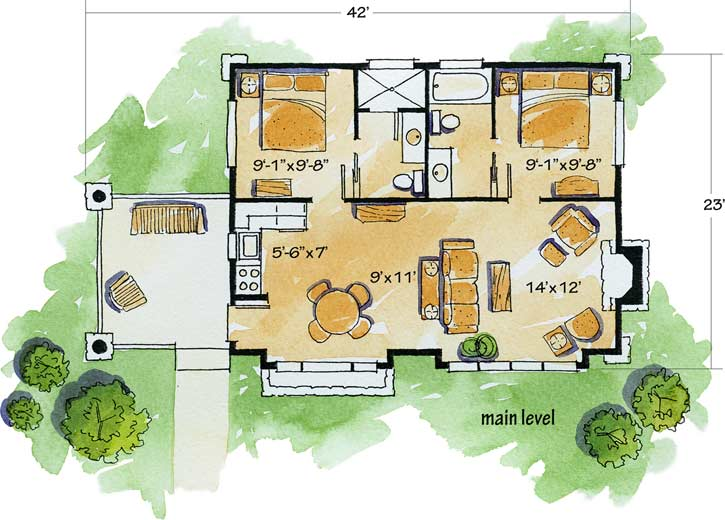 Main Floor Plan: 79-106