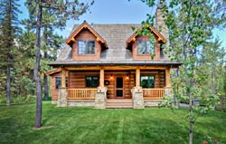Country Style Home Design Plan: 79-112
