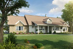 Ranch Style Home Design 79-113