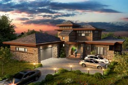 Modern Style House Plans Plan: 79-115