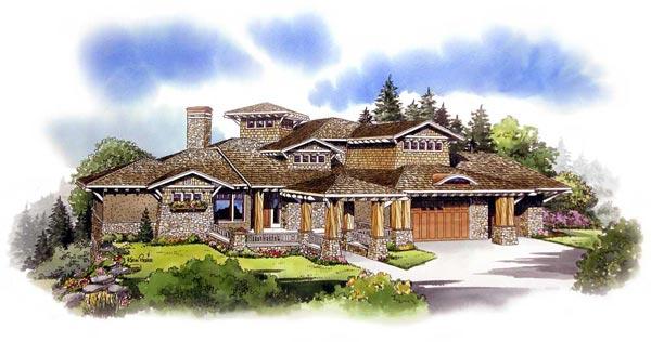 Craftsman Style House Plans Plan: 79-116