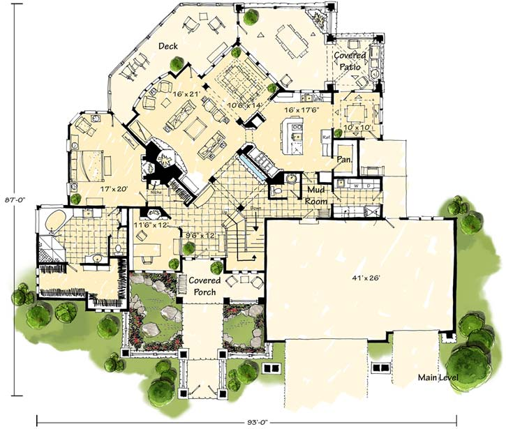 Main Floor Plan: 79-116