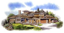 Craftsman Style Floor Plans 79-116