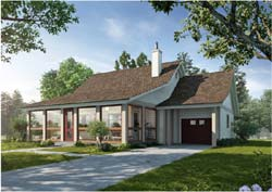 Country Style Floor Plans Plan: 79-119