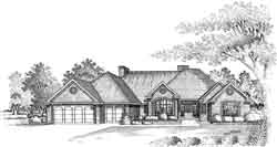 Traditional Style House Plans Plan: 8-1005