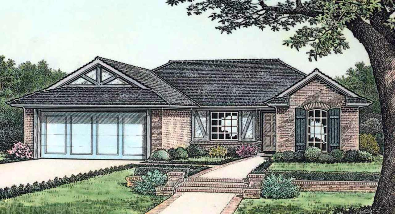 Traditional Style Floor Plans Plan: 8-101
