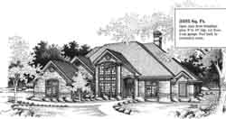 Traditional Style Floor Plans Plan: 8-1011