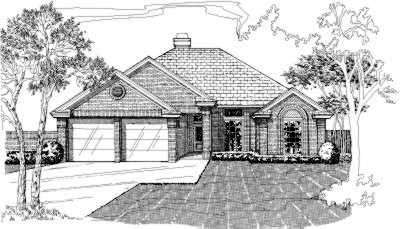 Traditional Style Floor Plans Plan: 8-102