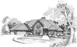 Traditional Style Floor Plans Plan: 8-1037