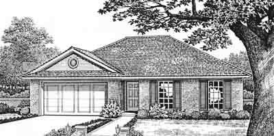 Traditional Style Floor Plans Plan: 8-104
