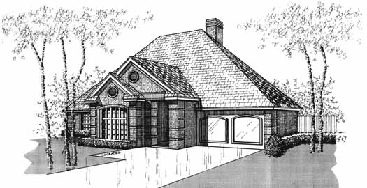 Traditional Style Floor Plans Plan: 8-1042