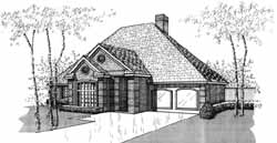 Traditional Style House Plans Plan: 8-1042