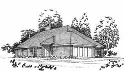 Traditional Style Floor Plans Plan: 8-1043