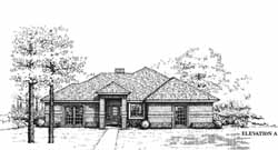 Traditional Style House Plans Plan: 8-1045
