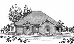 Traditional Style House Plans Plan: 8-1046