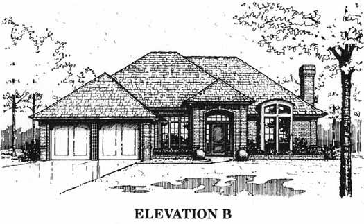 Alternate Elevations Plan: 8-1054