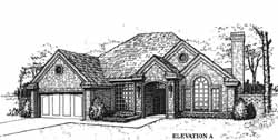 Traditional Style House Plans Plan: 8-1054