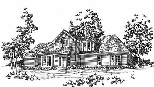 Traditional Style Floor Plans Plan: 8-1059