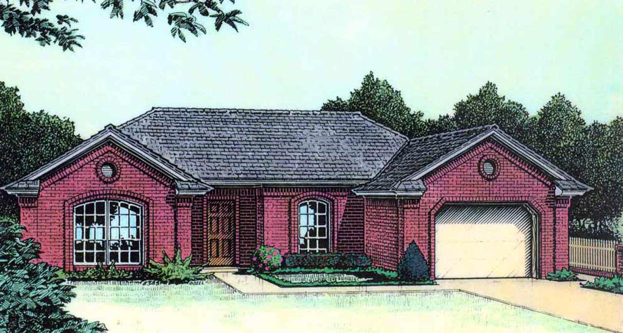 Traditional Style Floor Plans Plan: 8-106