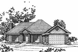 Traditional Style House Plans Plan: 8-1062
