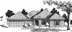 Traditional Style House Plans Plan: 8-1063
